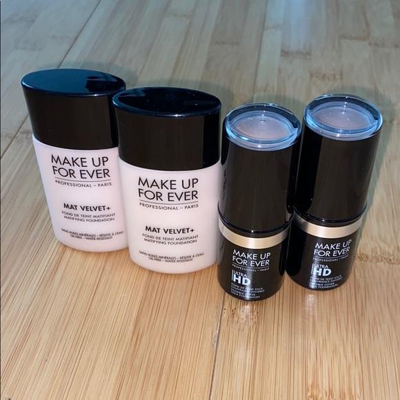 New makeup forever makeup bundle!